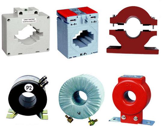 Внешний вид измерительных трансформаторов (трансформаторов тока)